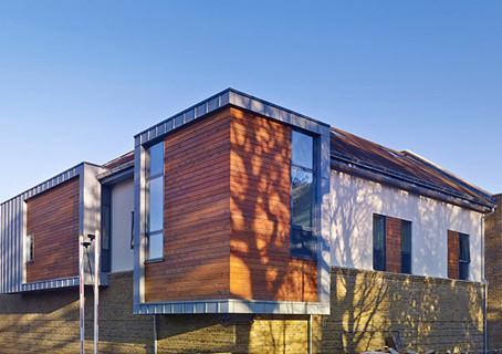 Aluminium cladding at Holly House Private Hospital, Buckhurst Hill