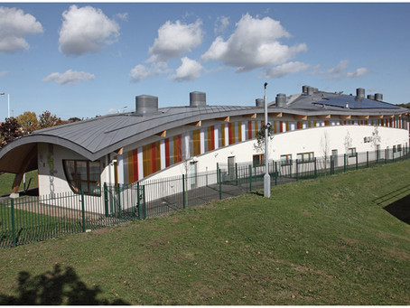 Zinc roofing at MyPlace Youth Centre