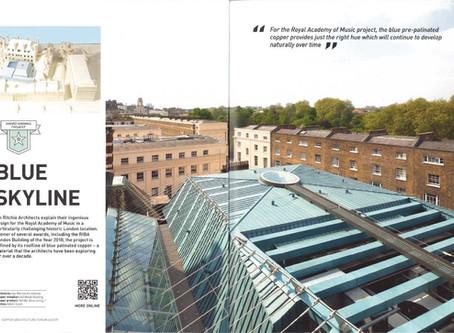 Press: Royal Academy of Music, Copper Architecture Forum Magazine