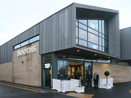 Zinc roofing and cladding at Booths Supermarket