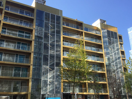 Aurubis copper cladding at Faraday House, Battersea Power Station