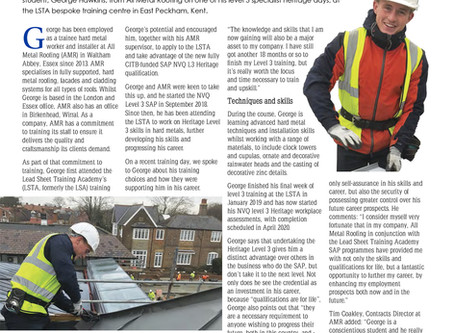 All Metal Roofing's George Hawkins featured in March issue of Roofing Today