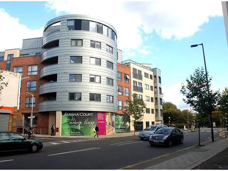 Zinc cladding at Grange Road, Bermondsey