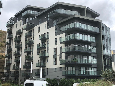 Zinc cladding at Westmount, Jersey