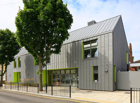 Zinc roofing and cladding at Sandringham Primary School