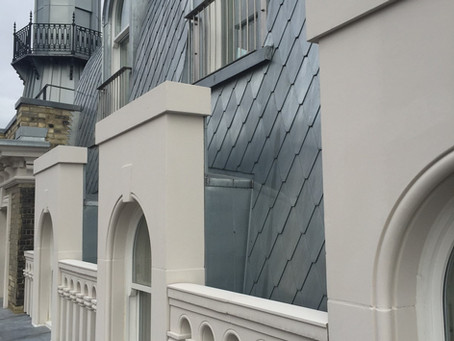 Zinc roofing and cladding at Lighthouse Building, Kings Cross