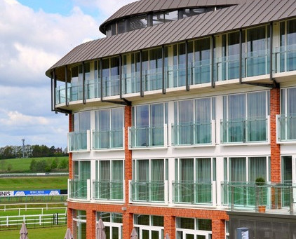 KME Tecu Bronze roofing at Lingfield Race Course