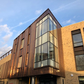 Zinc roofing and cladding at St John's School