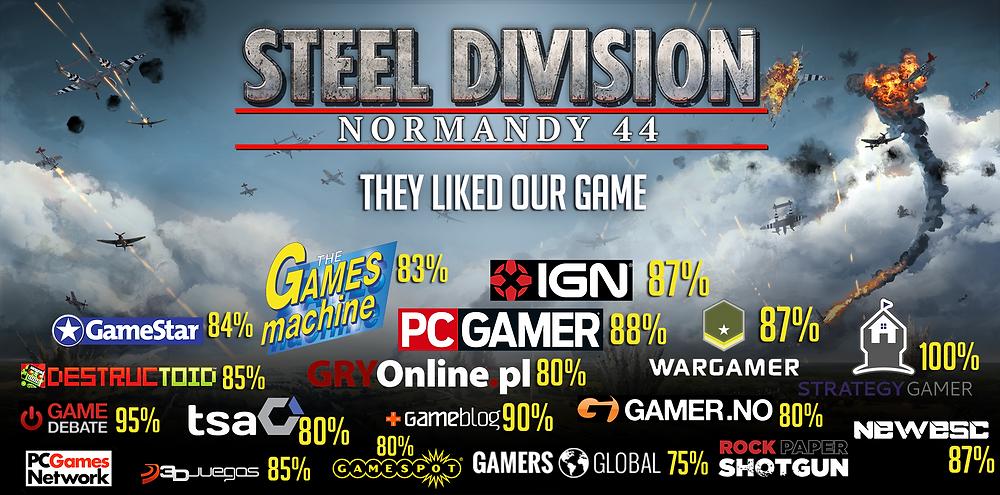 Presse Steel division : Normandy 44
