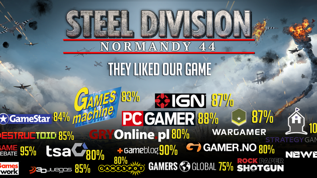 Sound design pour Steel division : Normandy 44 (Eugen Systems - Paradox Interactive)