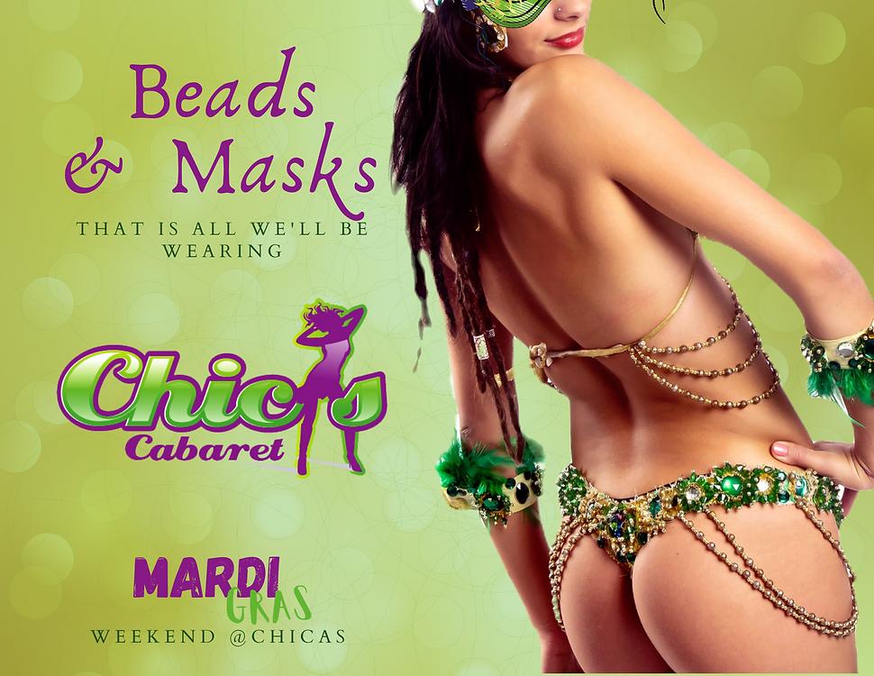 Mardi Grass at Chicas Cabaret