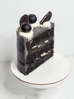 infused chocolate noir cake.