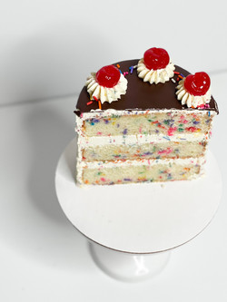 infused funfetti cake.