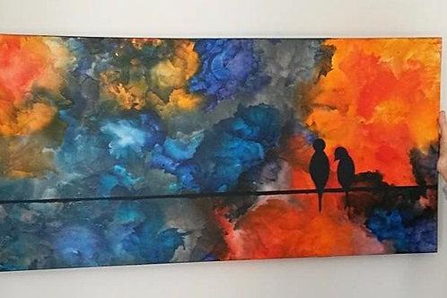 Bespoke Wax Canvas (2x4)