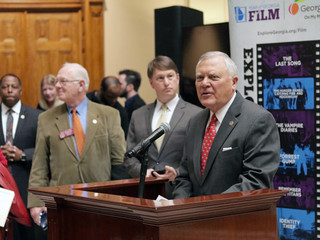 Governor Deal observes Film Day at the State Capitol