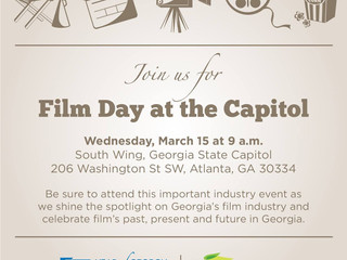 Join us for Film Day at the Capitol to support Georgia's film industry!