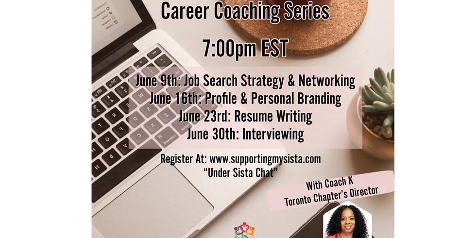 Sista Chat: Career Coaching Week 1