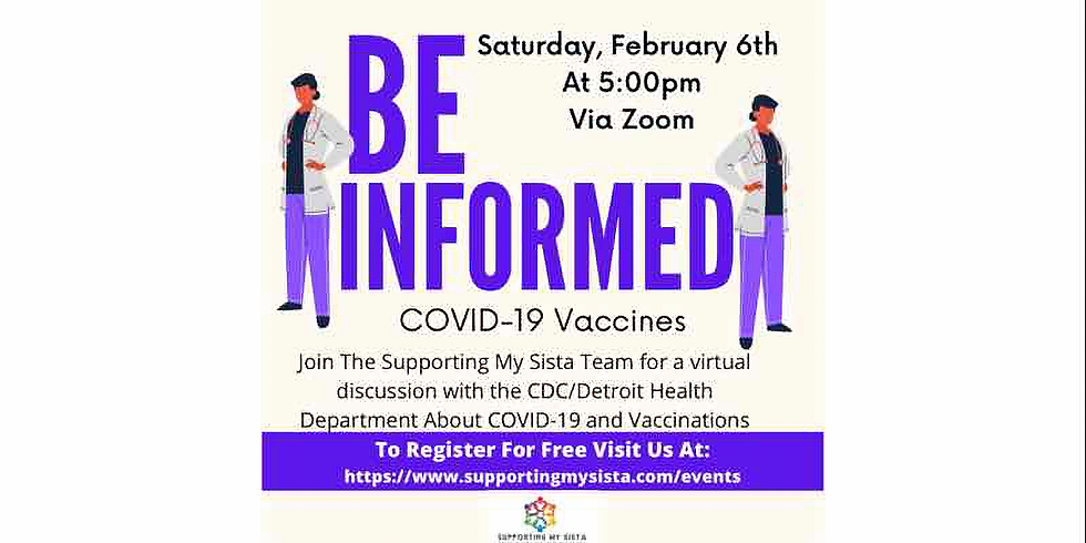 Sista Chat: Be Informed- COVID-19