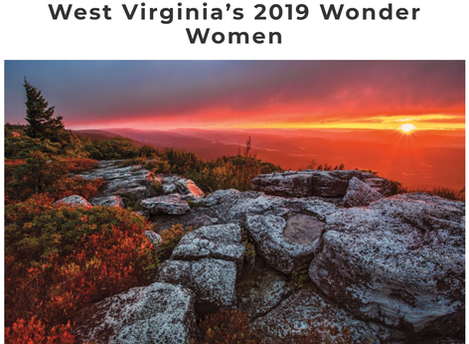 "Martha Carter named as one of ""West Virginia's 2019 Wonder Women"""