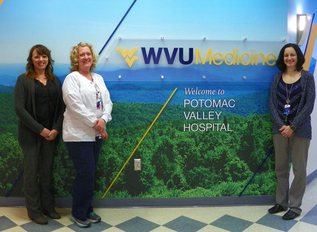 Brenna Earnest & WVU Potomac Valley Hospital earn full recognition for diabetes prevention program