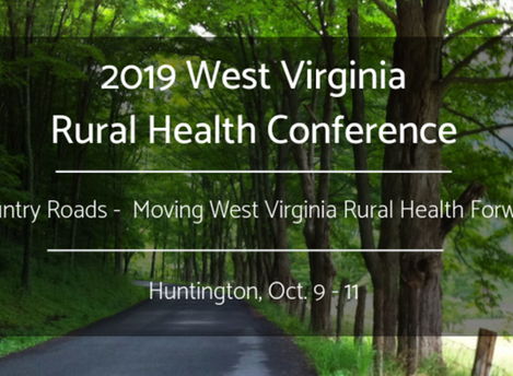 Adam Baus and Martha Carter to present at the 2019 West Virginia Rural Health Conference