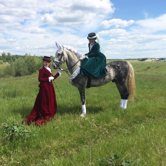 дамская езда