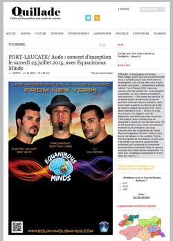 Equanimous Minds - Quillade - France