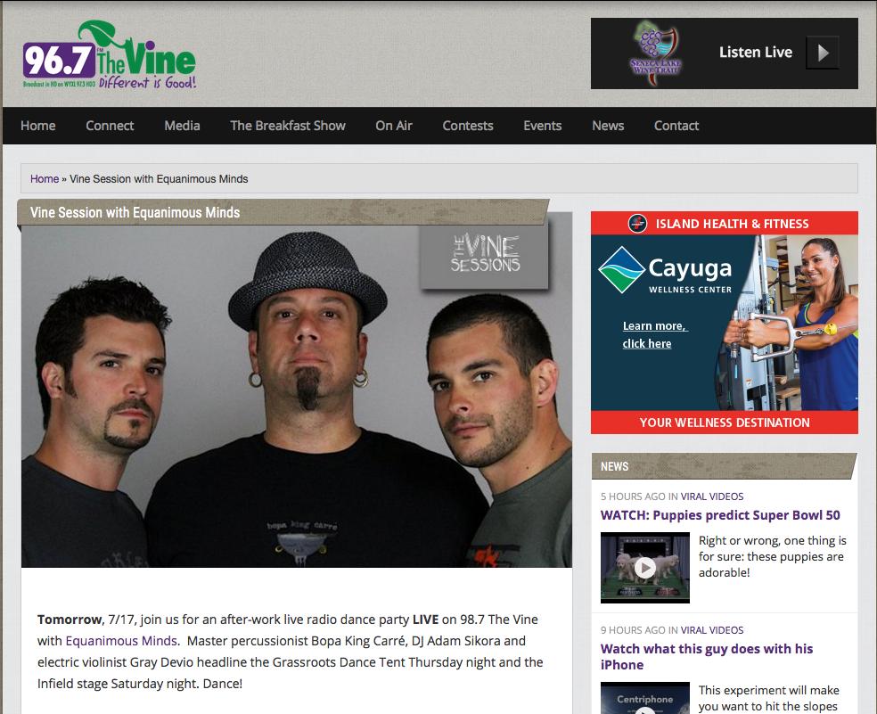 The Vine 98.7 FM, Ithaca
