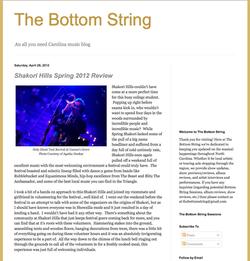 The Bottom String 2012