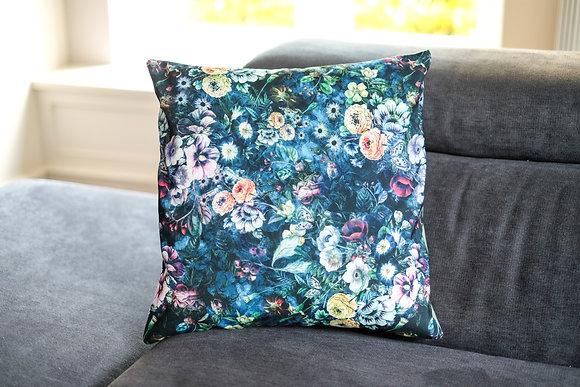 Floral Drama Cushion