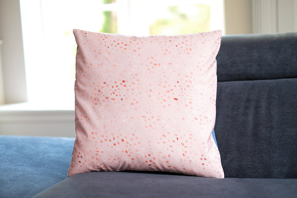 Metallic Pink Cushion