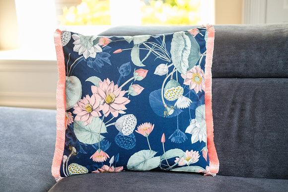 Mystic Garden Fringe Cushion