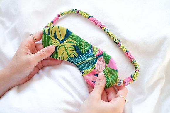 Pink Tropic Sleep Mask