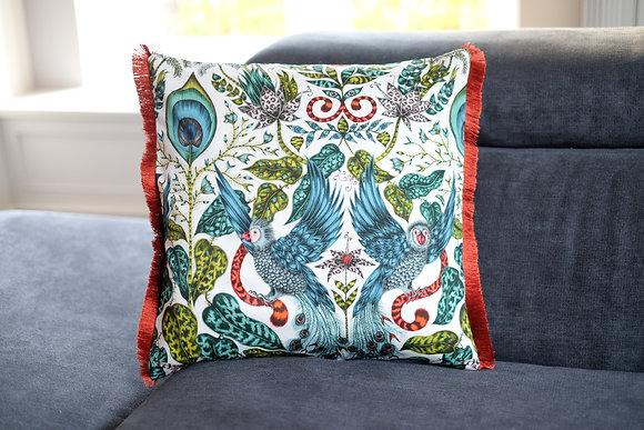 Fly Away Fringe Cushion
