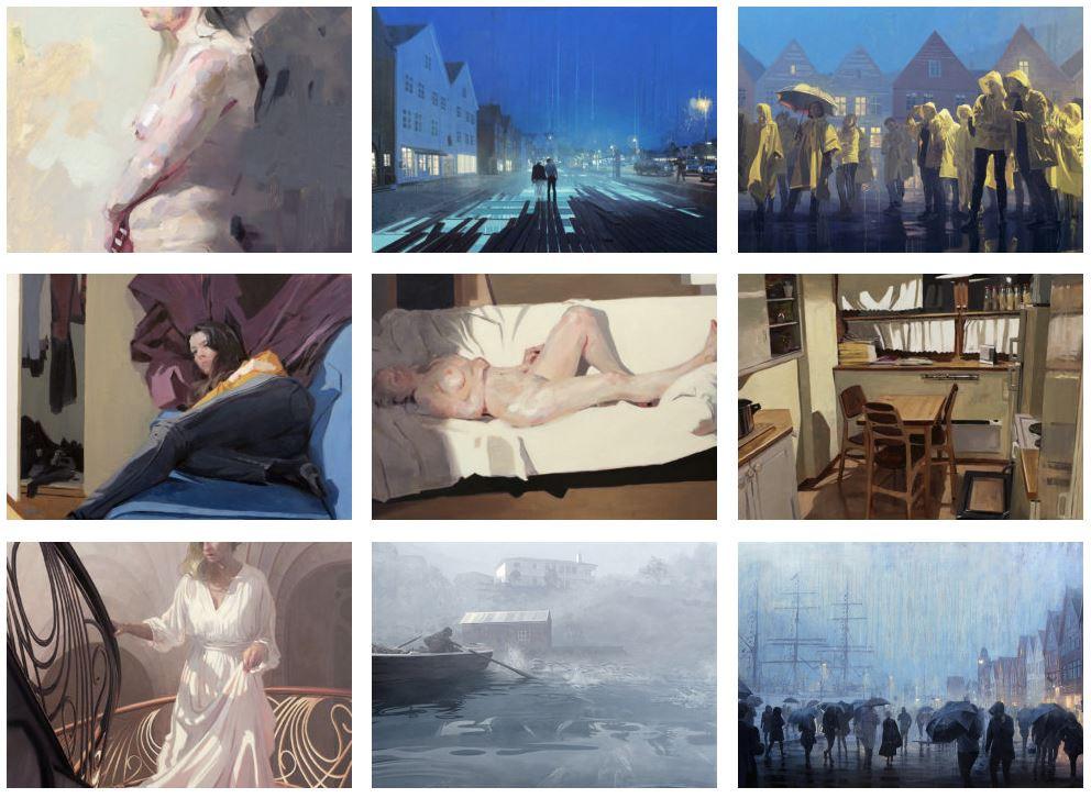 Nicholas O'Leary art work personal MIR