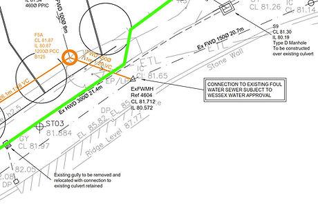 Drainage design agreements west sussex
