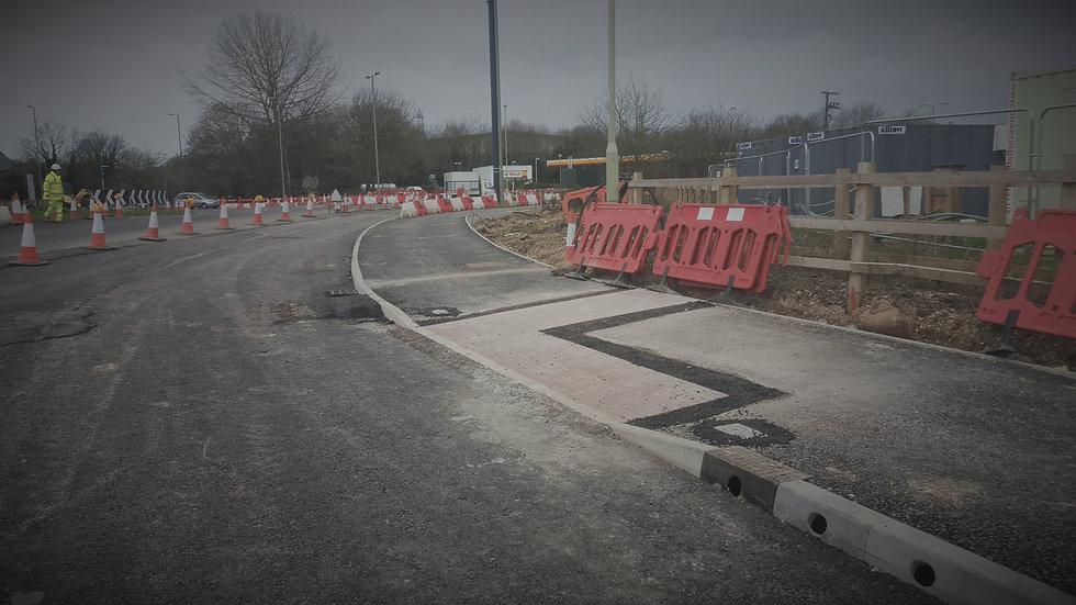 road design drainage