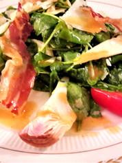 Salade d'artichauts, copeaux de parmesan