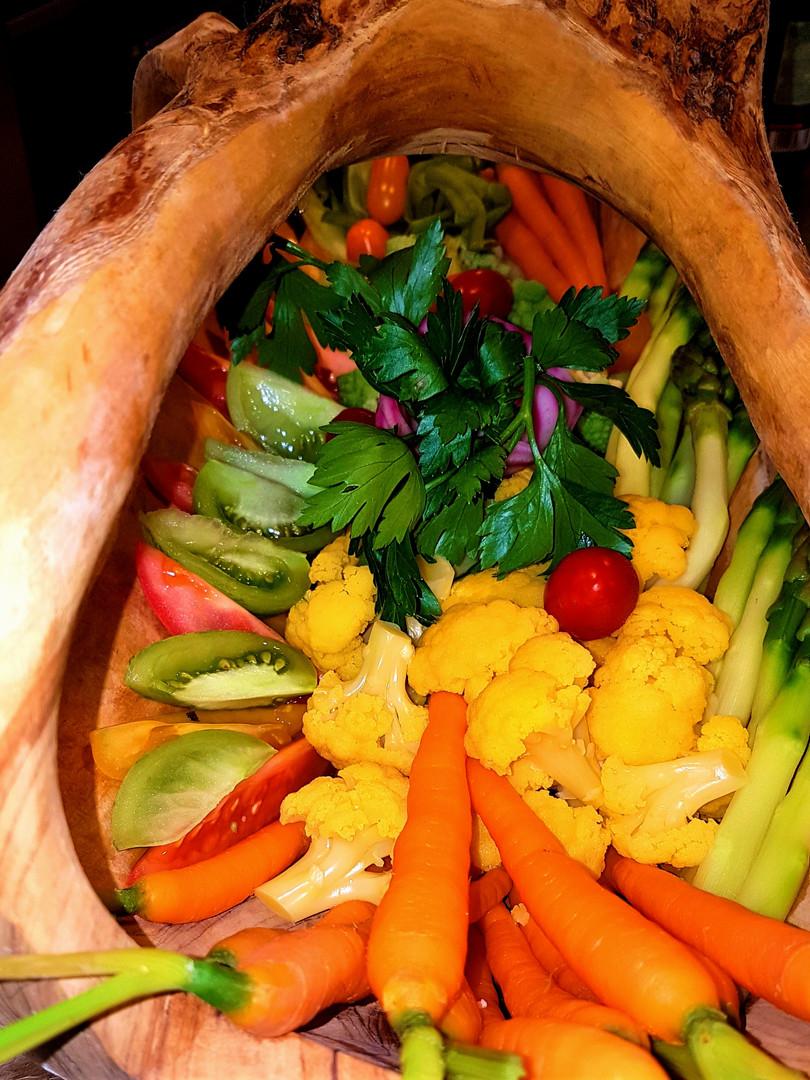 Plateau de légumes