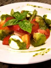 Fraîcheur de tomates mozzarella