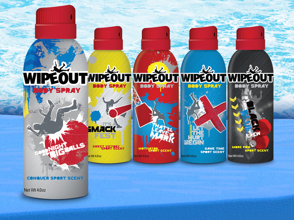 Wipeout Body Spray