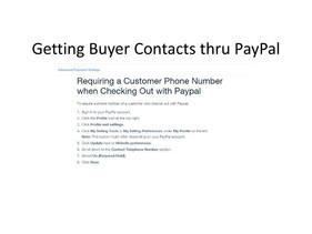 WiX - Website Paypal setup