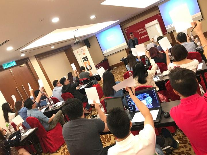FACEBOOK workshop in KL