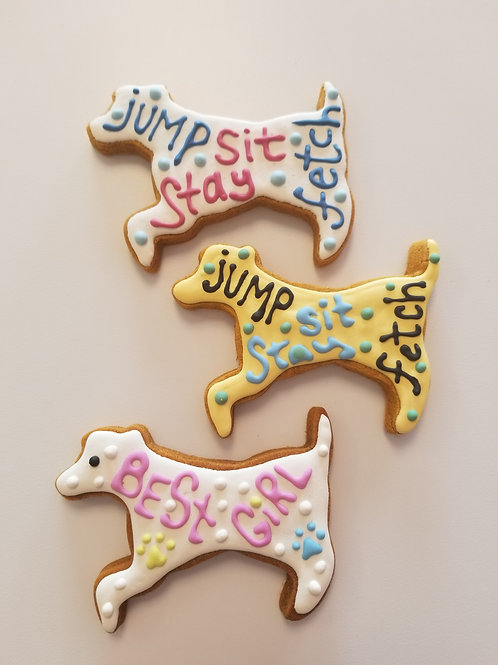 Adorable Dog Shaped Treats - Organic Pumpkin & Peanut Butter