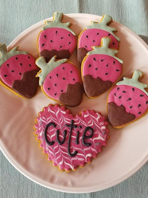 Strawberries & Heart