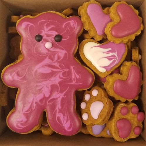 Big Bears Mini Bone Box - Peanut Butter & Pumpkin