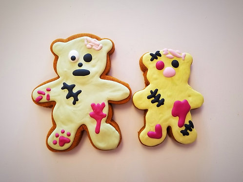 Zombie or Frankenstein Bear - Organic Pumpkin & Peanut Butter