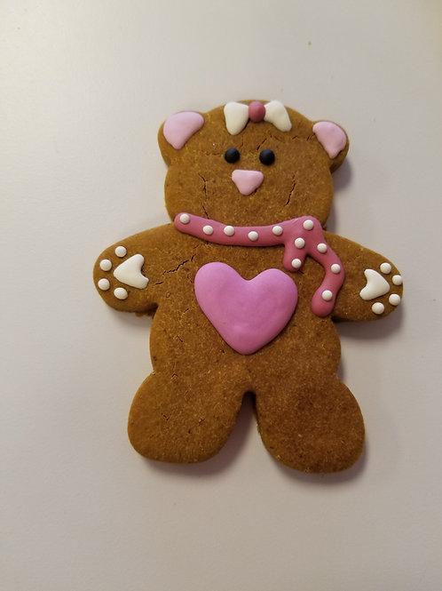 Valentine's Day Bear - Organic Pumpkin & Peanut Butter