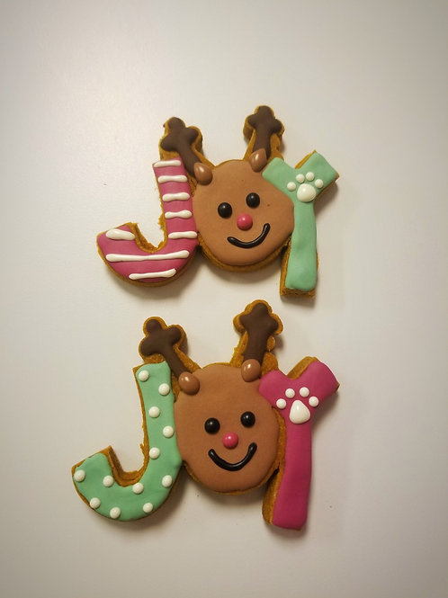 JOY Christmas Treats - Organic Pumpkin & Peanut Butter