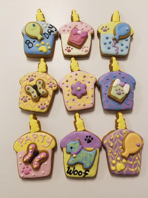 Cupcake Cookies - Organic Pumpkin & Peanut Butter